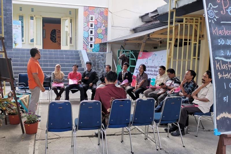 Telaah - Kota Magelang membangun Co-Working Space Garasi Inovasi
