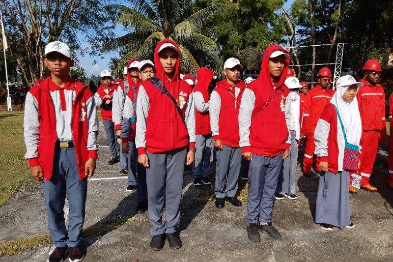 Peserta SMN Sulsel: Kami nyaman berada di Papua