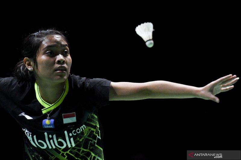 Hari kedua, empat tunggal Indonesia bertahan di kejuaraan dunia
