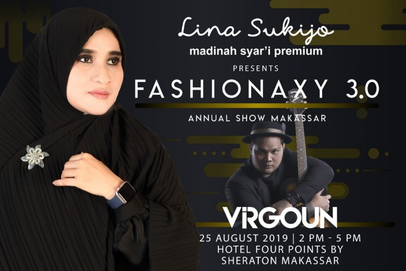 Lina Sukijo bidik Makassar fashion show tunggal