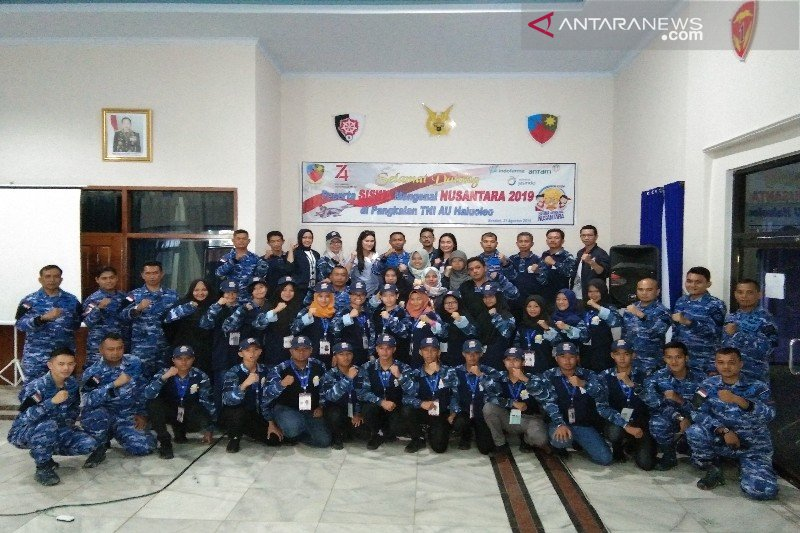 SMN Babel latihan bela negara di Lanud Haluoleo