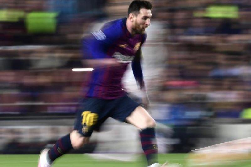 Cedera betis Messi belum pulih