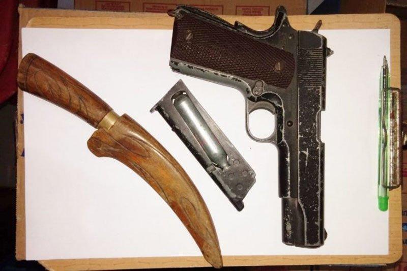 """Polisi tangkap sopir bawa """"airsoft gun"""""""