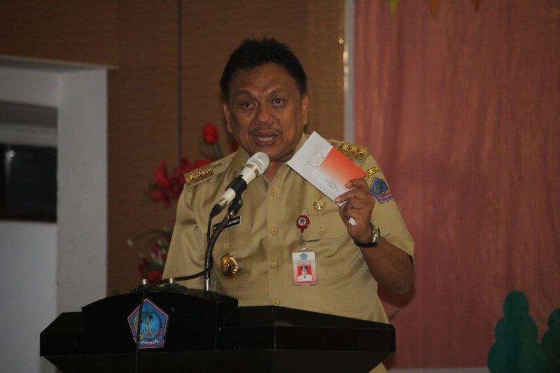 Peringati Hari Menabung Nasional, Gubernur Sulut mengajak siswa menabung