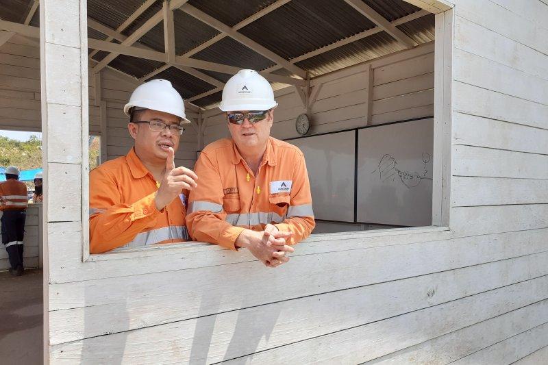 Tambang Martabe Tapsel targetkan produksi 400.000 oz emas