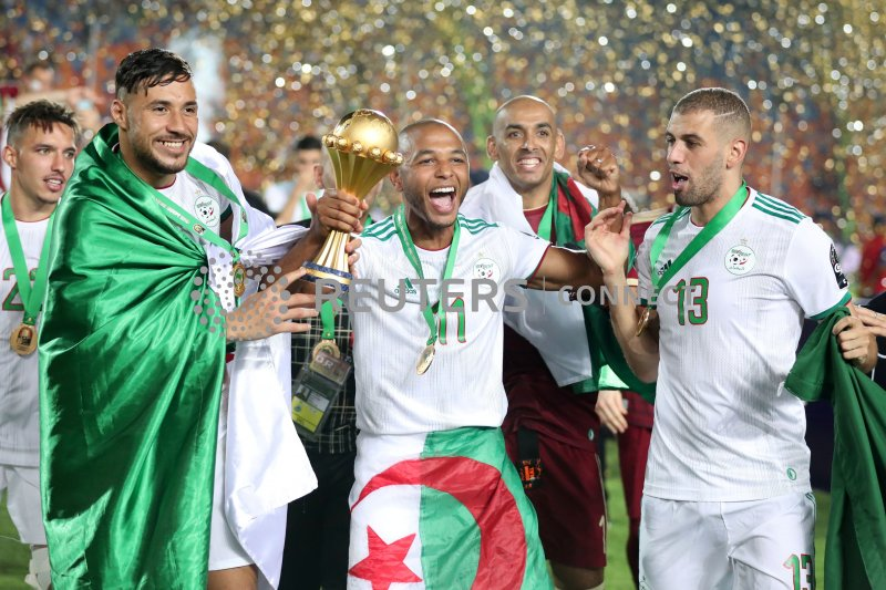 Pinjam dari  Leicester City,  Monaco hadirkan Islam Slimani