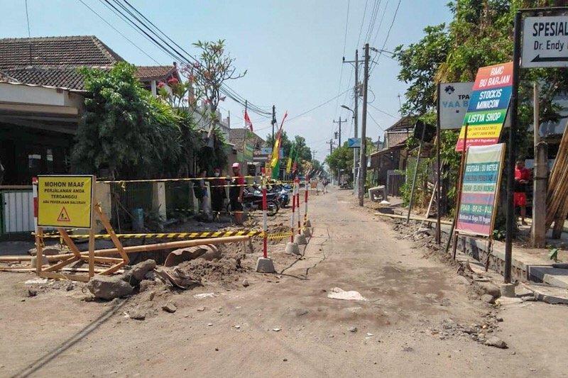 Proyek drainase di Yogyakarta terkait OTT KPK dihentikan sementara