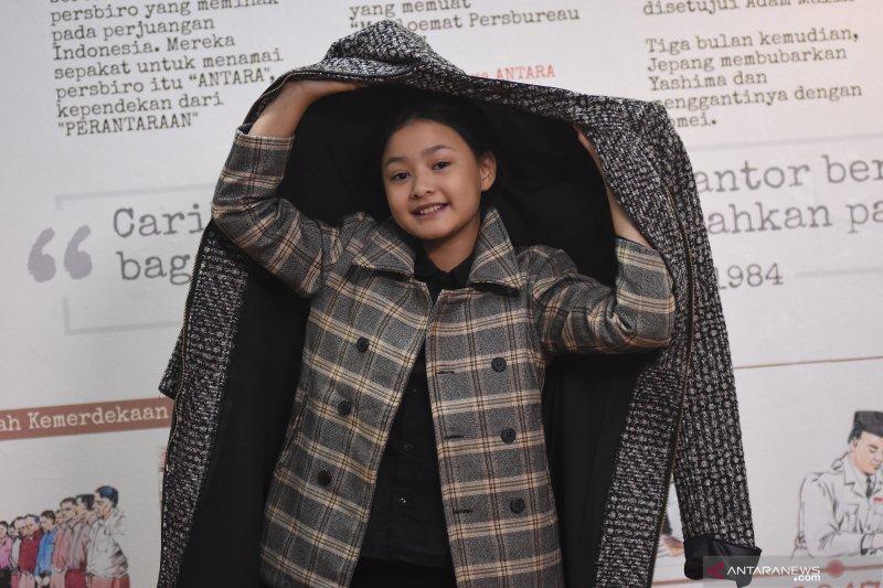 Gadis cilik Hanna Aulia Khadijah jadi desainer di usia 11 tahun - ANTARA  News Mataram - Berita NTB Terkini