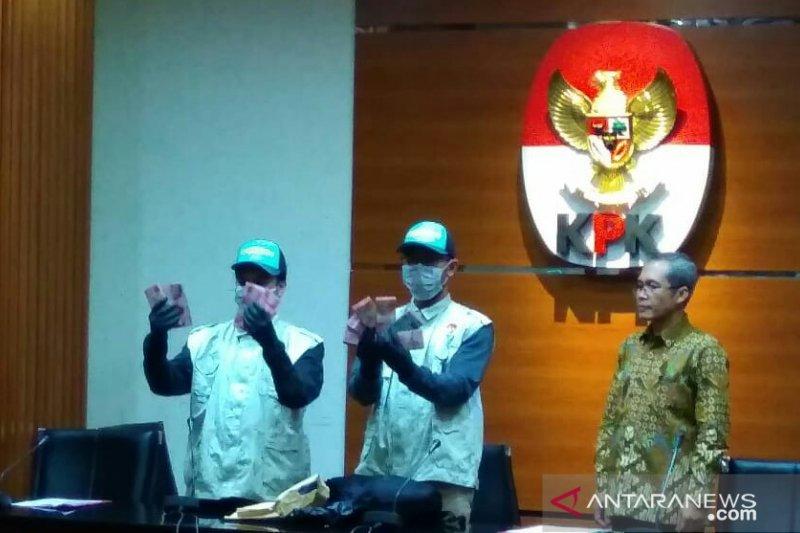 Dua tersangka suap Dinas PUPKP Yogyakarta ditahan