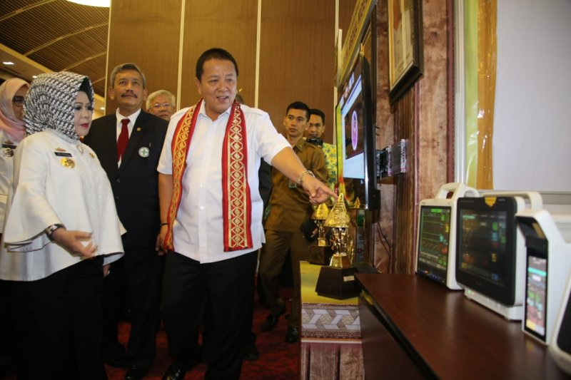 Gubernur Lampung minta rumah sakit perbaiki pelayanan