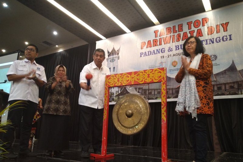 Yogyakarta membawa 20 agen wisata ke Sumatera Barat