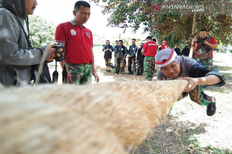 23 peserta SMN Babel ikuti halang rintang di Lanud Haluoleo
