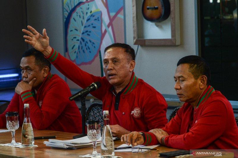 Jenderal bintang dua TNI AD siap bantu Komisaris Jenderal Mochamad Iriawan benahi PSSI