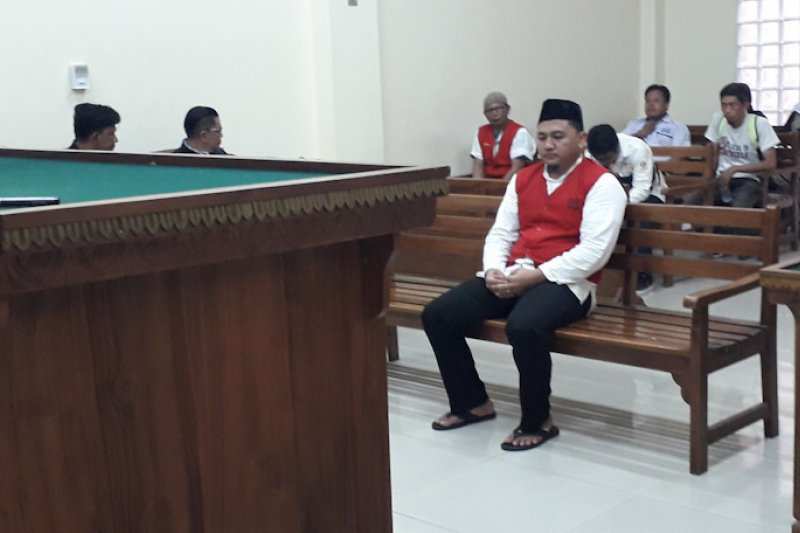 Pembunuh ajudan Bupati Lampung Utara dituntut 6,6 tahun penjara