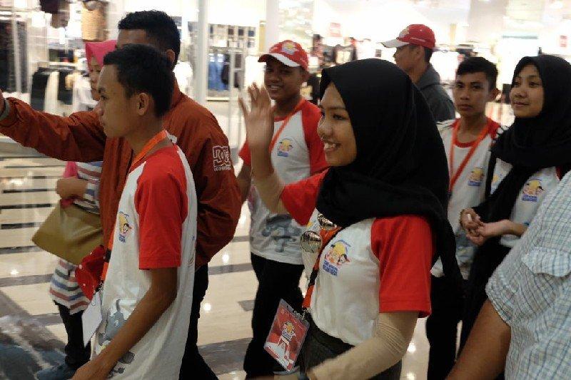 Peserta SMN  Sulteng kagumi perkembangan ekonomi kota Medan