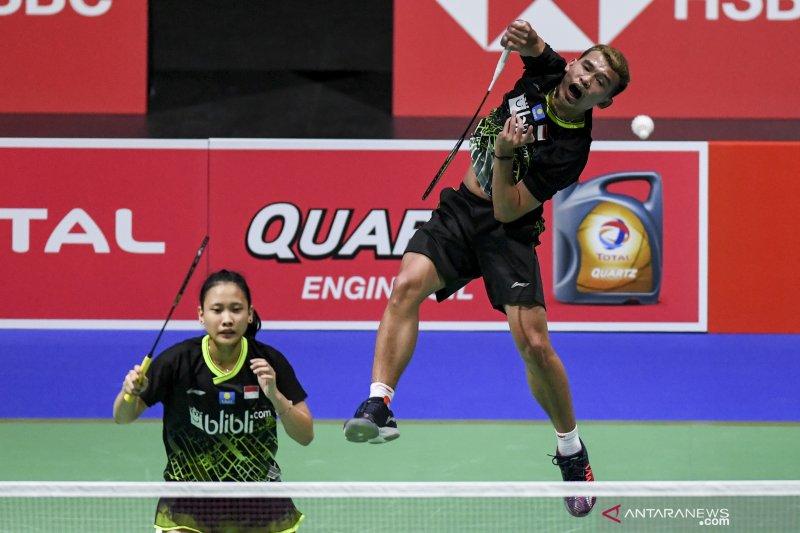 Rinov/Pitha melenggang ke babak dua China Open 2019