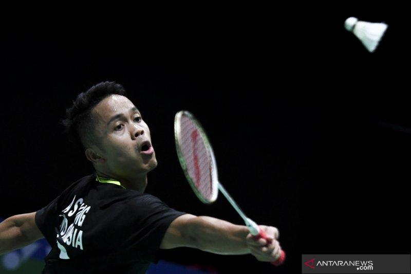 Ginting singkirkan Nishimoto di babak pertama China Open