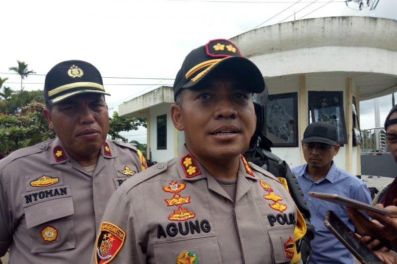 Kapolres: 34 orang pelaku kerusuhan Timika diproses hukum