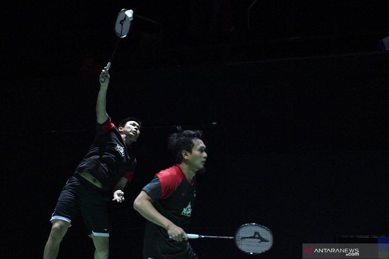 Ahsan/Hendra ke perempat final Kejuaraan Dunia