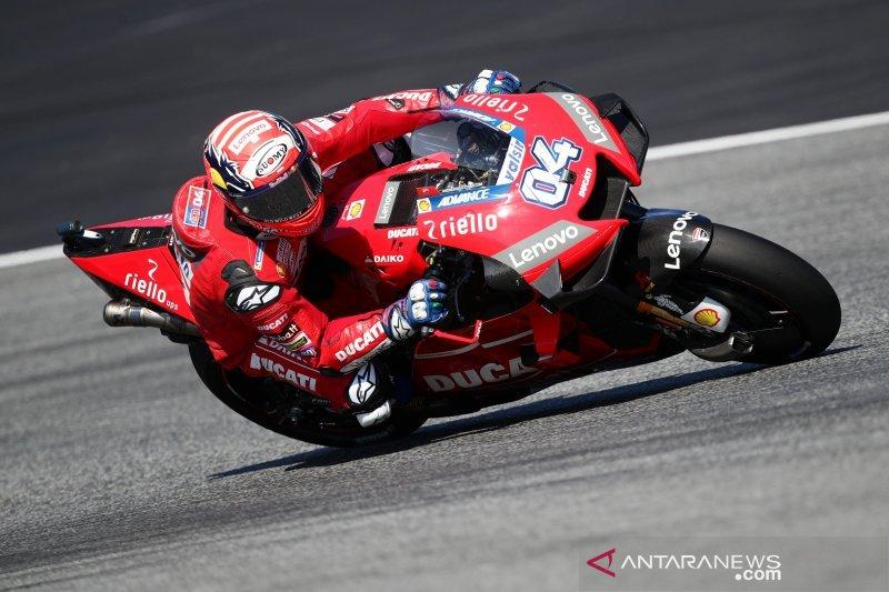 Andrea Dovizioso diharapkan fit pasca operasi jelang start MotoGP