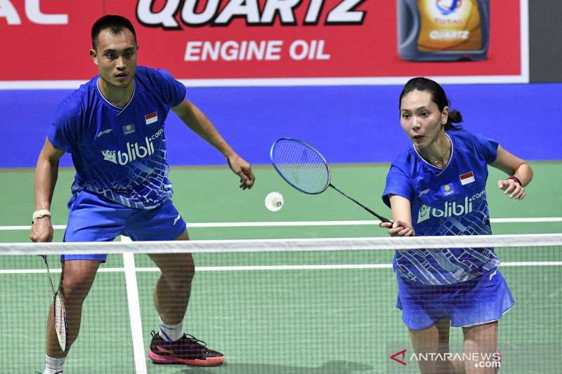 Tiga ganda campuran ke perempat final Taipei Open