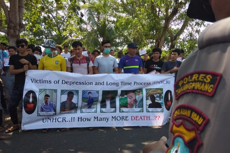 Polres Tanjungpinang minta Kantor UNHCR dipindah ke Bintan