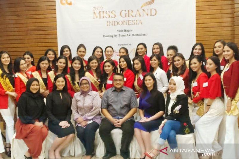 Miss Grand Indonesia digandeng untuk promosikan pariwisata Bogor