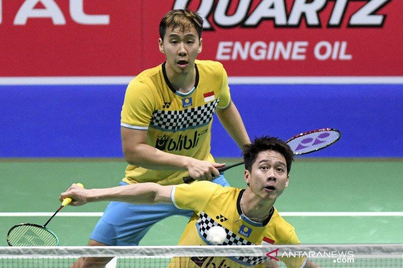 Minions kuasai permainan atasi Han/Zhou di Denmark Open