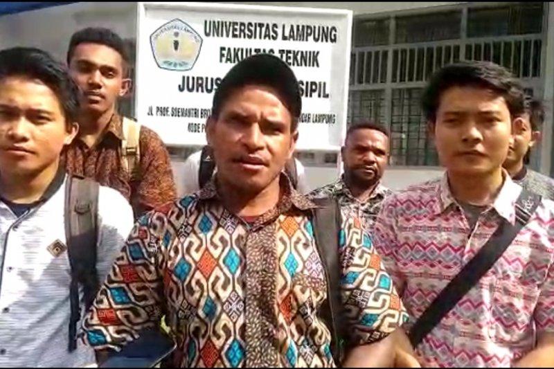 Ikatan Mahasiswa Papua Lampung minta Presiden lebih perhatikan Papua