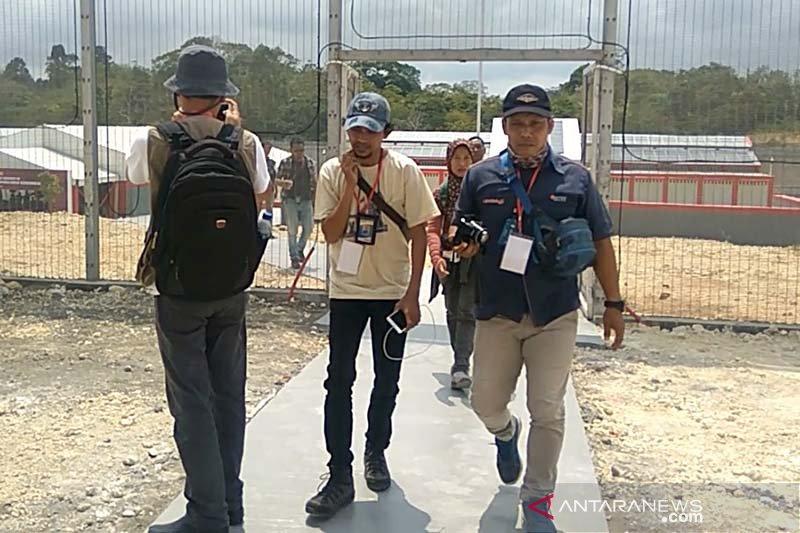 """Kunjungan Menkumham di Nusakambangan diwarnai """"walk out"""" wartawan"""