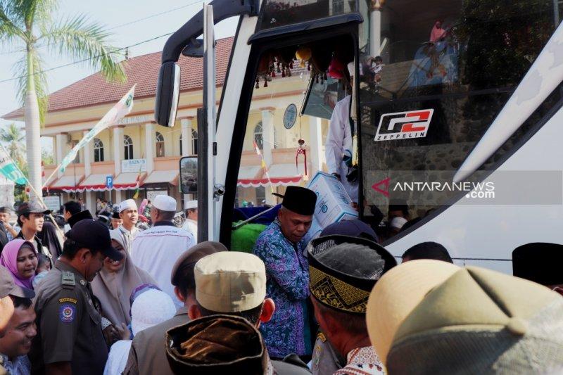431 orang jamaah haji OKU tiba di Baturaja