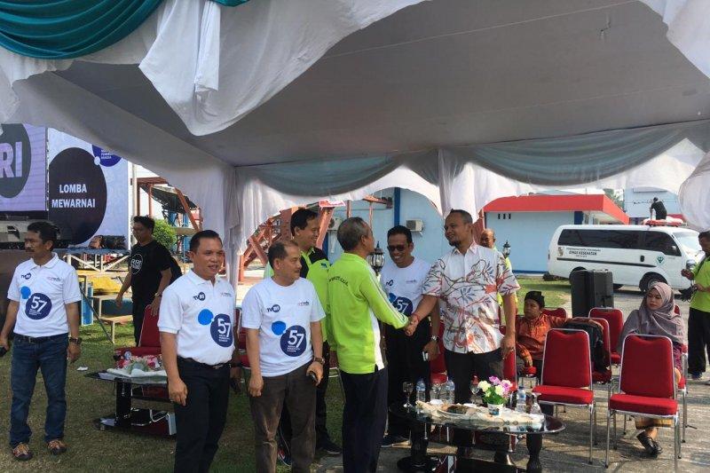 VIDEO- Tiga media milik negara berkumpul saat HUT TVRI di Riau