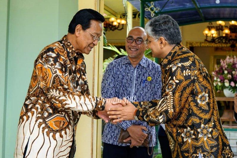 Dubes India menemui Sultan HB X pererat hubungan dengan Yogyakarta