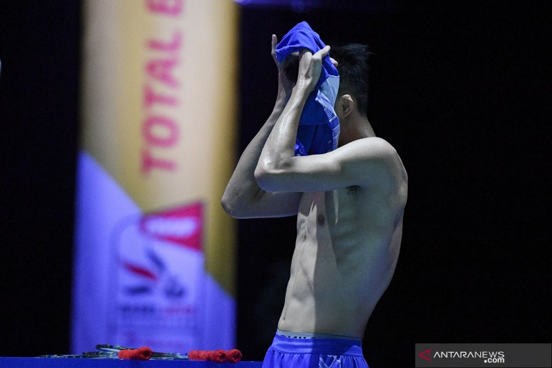 Jonatan Christie kandas di semifinal Kejuaraan Dunia 2019