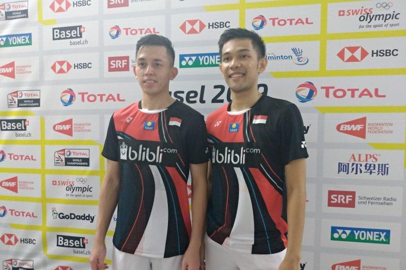 Fajar/Rian maju  ke perempat final Kejuaraan Dunia