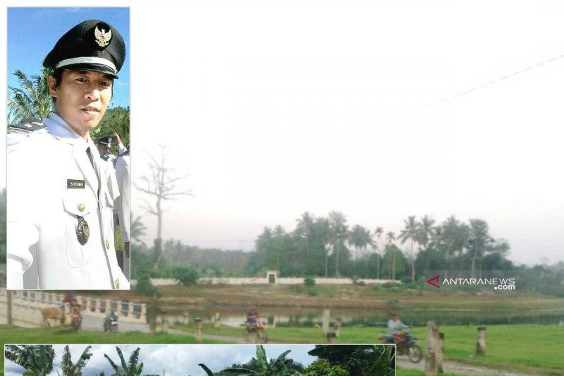 Desa Rantau bangun jalan permudah  petani angkut hasil kebun