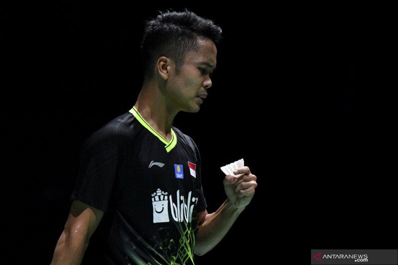 Ginting kembali hadapi pemain India pada perempat final China Open 2019