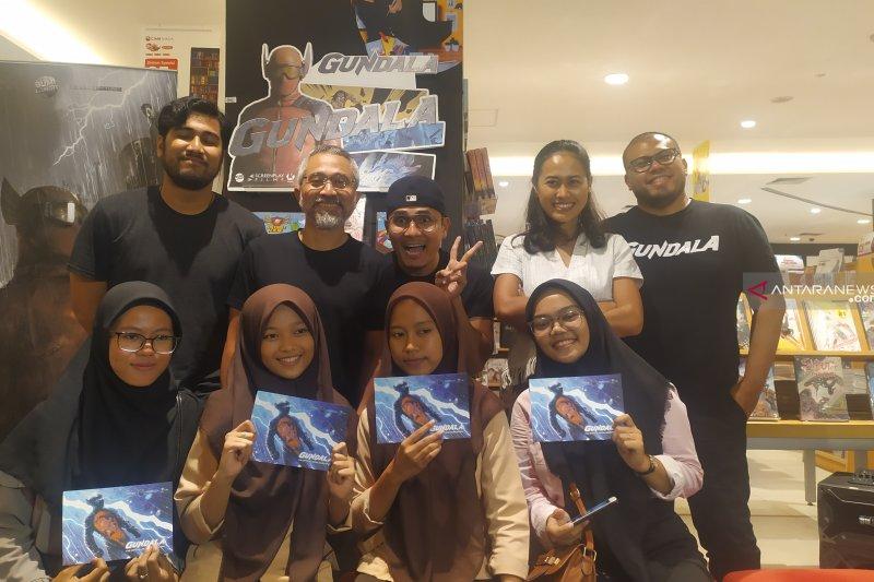 "Pemain Film ""Gundala"" sapa warga Kota Medan"