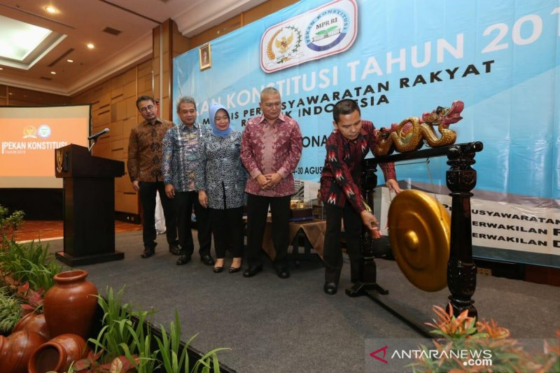 MPR RI gelar Pekan Konstitusi tumbuhkan kesadaran berkonstitusi