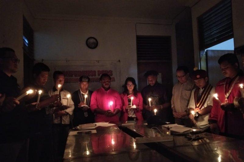 Mahasiswa dan ormas gelar aksi solidaritas untuk Papua