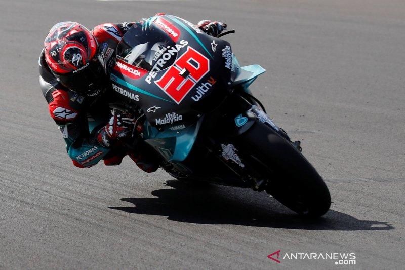 Fabio Quartararo ungguli Marquez pada sesi latihan GP Inggris