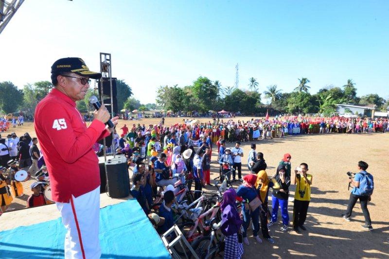Gubernur Sulsel lepas gerak jalan Juang 2019 di Takalar