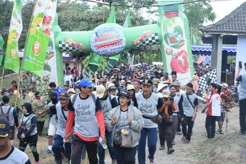 1.000 peserta mengikuti jelajah wisata lereng Merapi
