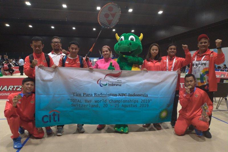 Indonesia raih empat medali emas dalam Kejuaraan Dunia Para-Badminton