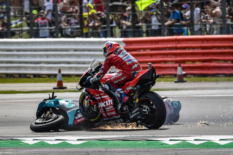 Quartararo jelaskan soal insiden kecelakaan dengan Dovizioso di Silverstone