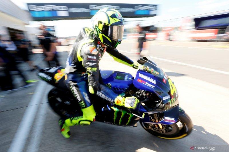 MotoGP -- Rossi, Vinales tak khawatirkan cuaca hujan di Aragon