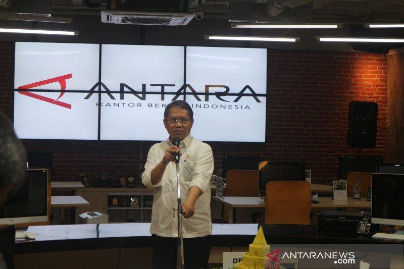 "Menkominfo berharap ANTARA terintegrasi dengan seluruh ""newsroom"" kementerian"