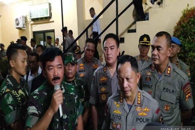 Panglima TNI tegaskan tidak ada ruang bagi pelaku rasis
