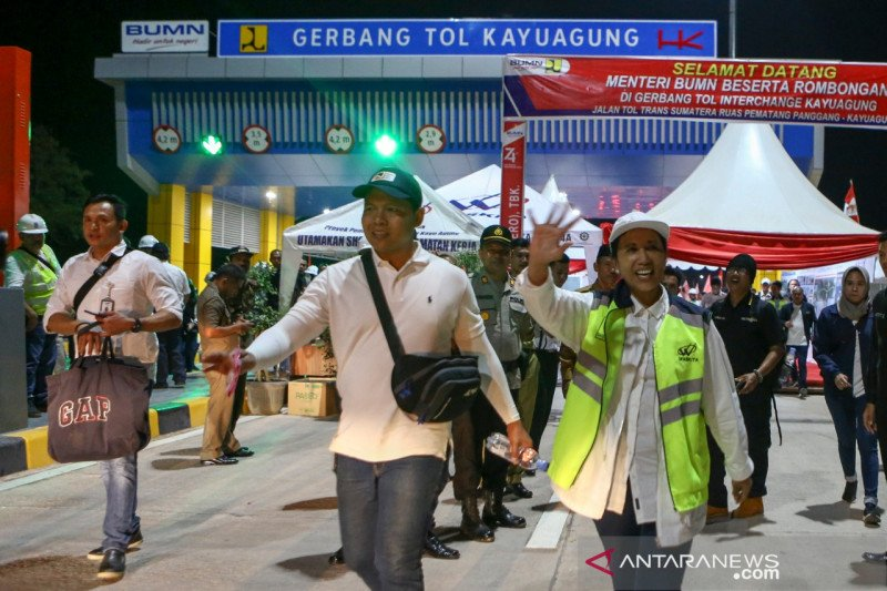 Ruas Tol Bakauheni- Palembang  ditarget selesai akhir September 2019