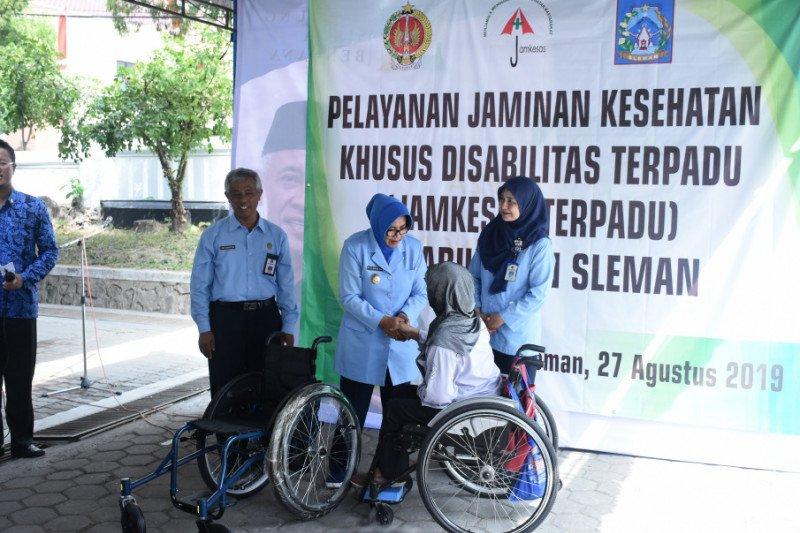 Sleman menggelar pelayanan kesehatan gratis bagi penyandang disabilitas